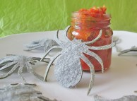 Renfield's Spider Chips with Transylvanian Salsa