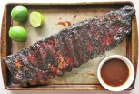 5. Barbeque's Rum-Soaked Ribs from Treasure Island