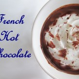 My sister gave me a tin of Angelina's instant hot chocolate when she came back from a visit to Paris. I definitely taste the similarities here, but of course it's even better when you make it from scratch. ^.^