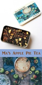 Ma's Apple Pie Tea from Little House on the Prairie