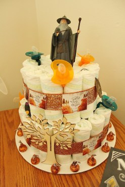 Check out that Gandalf cake!