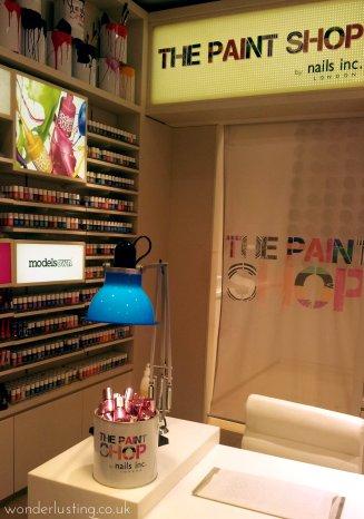 Selfridges Beauty WorkshopThe Paint Shop