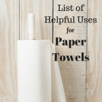 The Ultimate List Of Helpful Uses For Paper Towels
