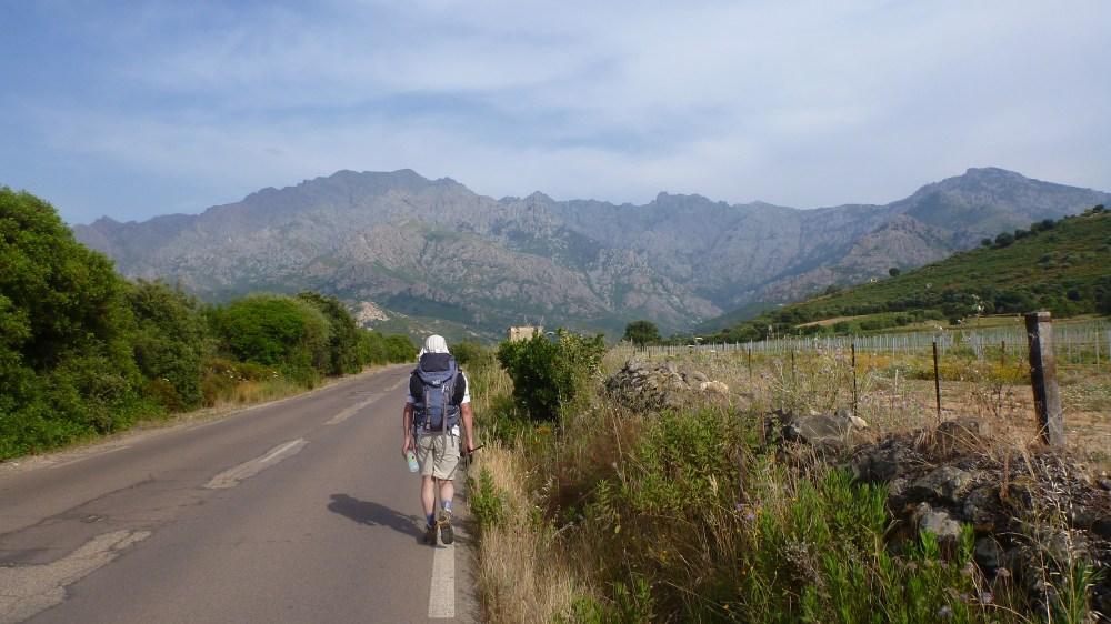 Route vers Calenzana