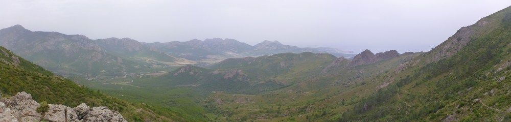 Panorama vers Calvi