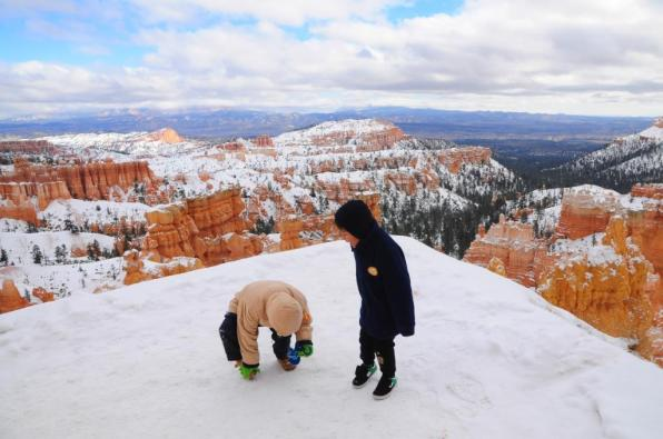 Navajo trail is easy and family friendly