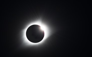 Diamond Ring Marks the End of Totality