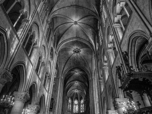 Nave Ceiling - Intact, but with gaping holes