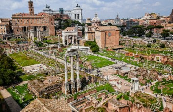 Forum from Palatine Hill