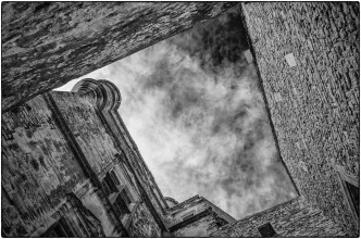 Looking Up - Gordes, Provence