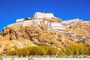 Gyantse old fort