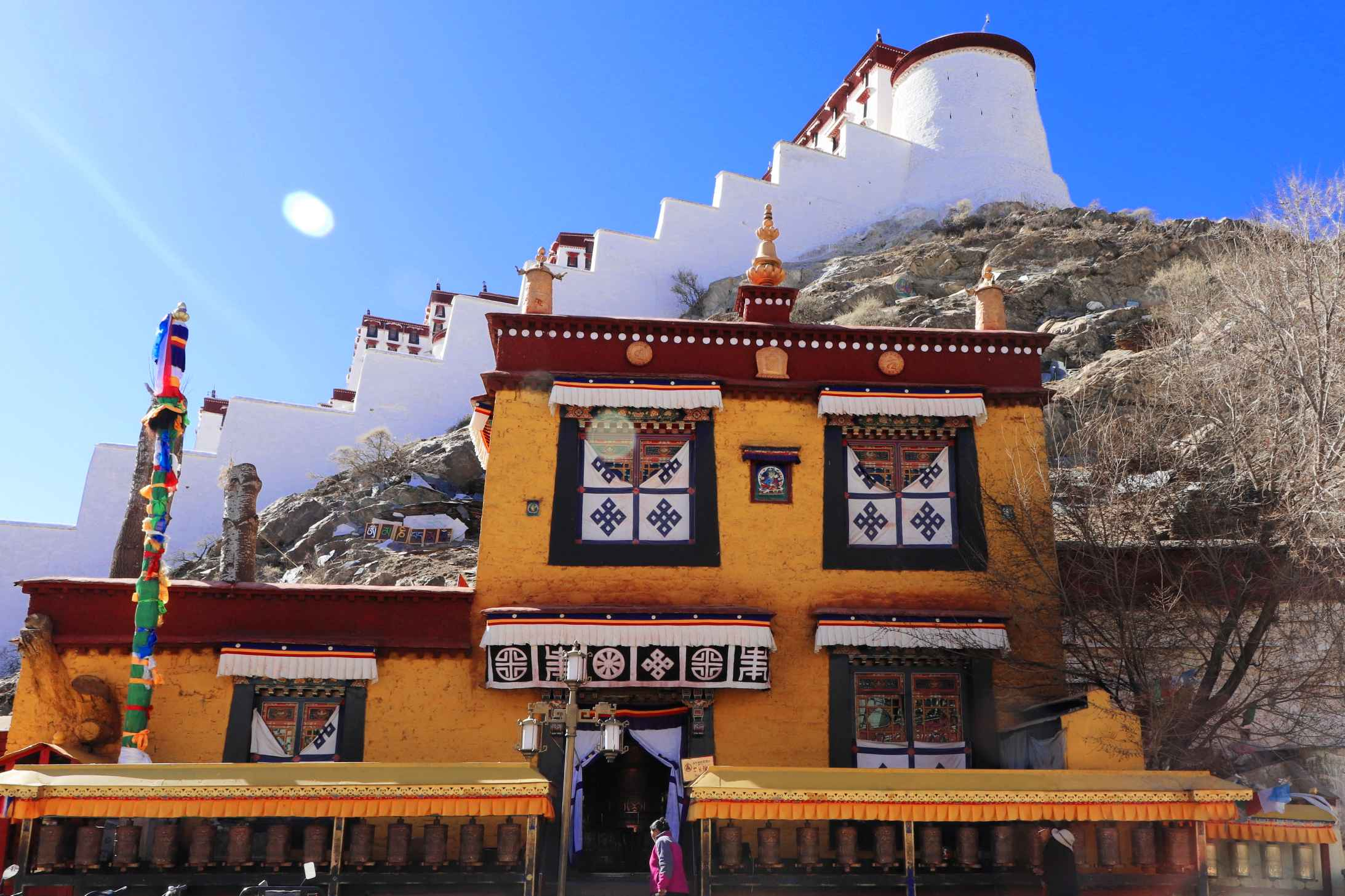 Nunnery by the Potala Palace