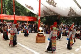Opera Dance in Norbulingka during Shoton Festival
