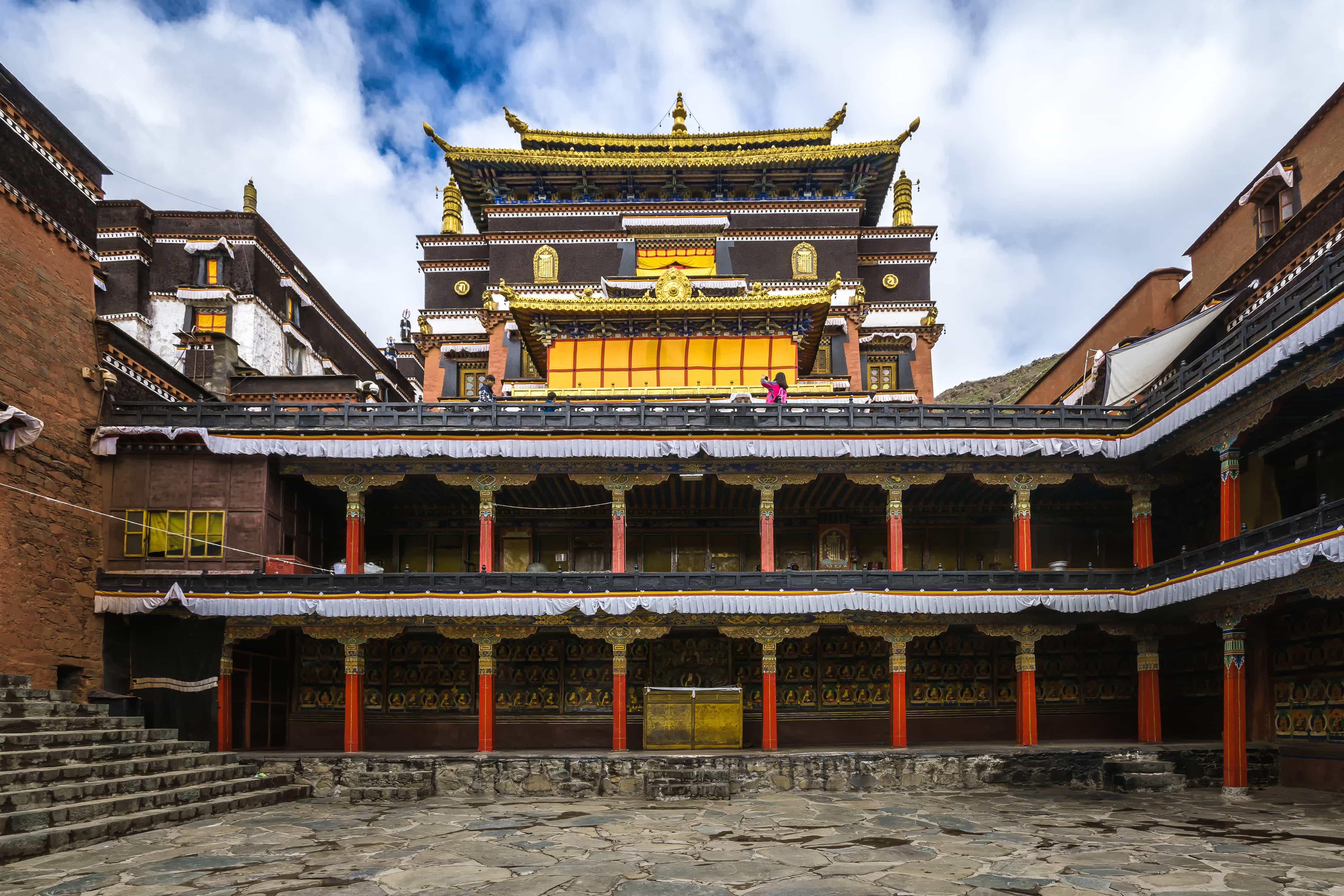Tashilhunpo Monastery in Shigatse, Tibet