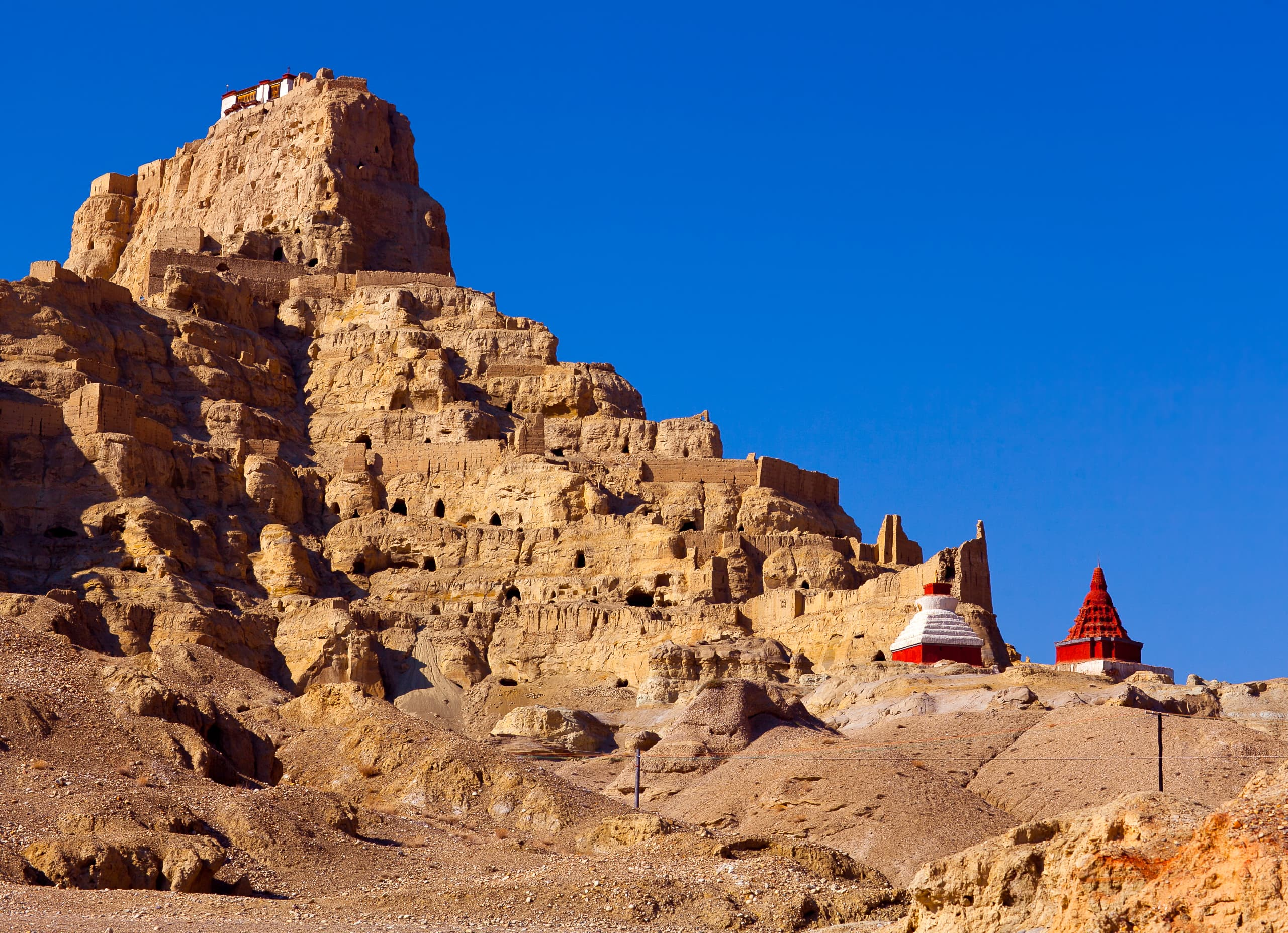 Ancient Tholing Monastery in Tibet