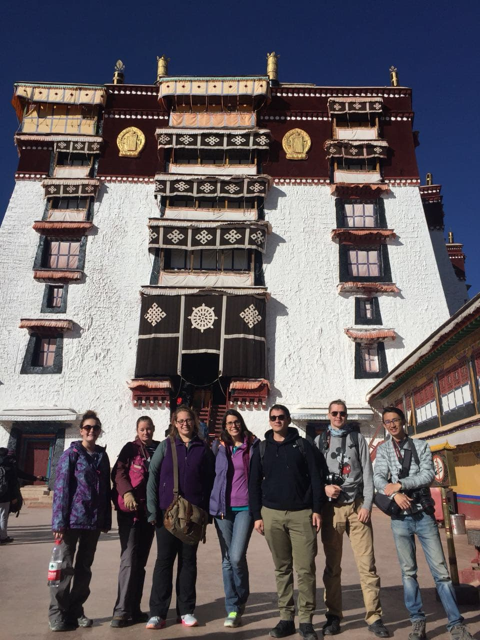 Group Tour Visiting Potala Palace