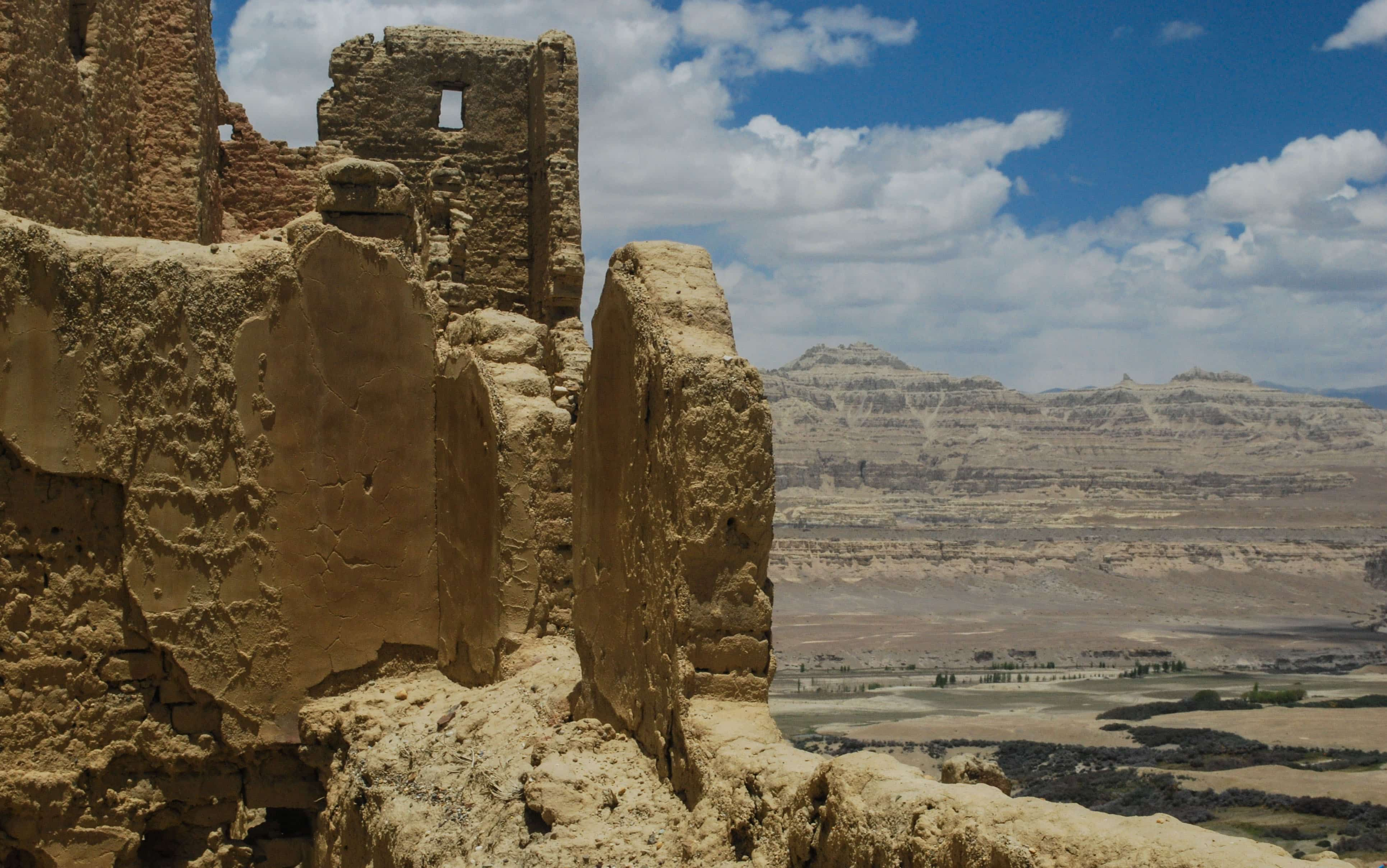 The ruins of the Guge Kingdom in Western Tibet