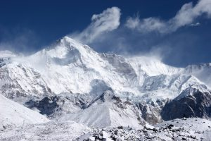 Cho Oyu the 6th highest mountain in the world