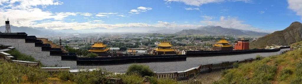 Kora around Tashilhunpo Monastery in Shigatse, Tibet