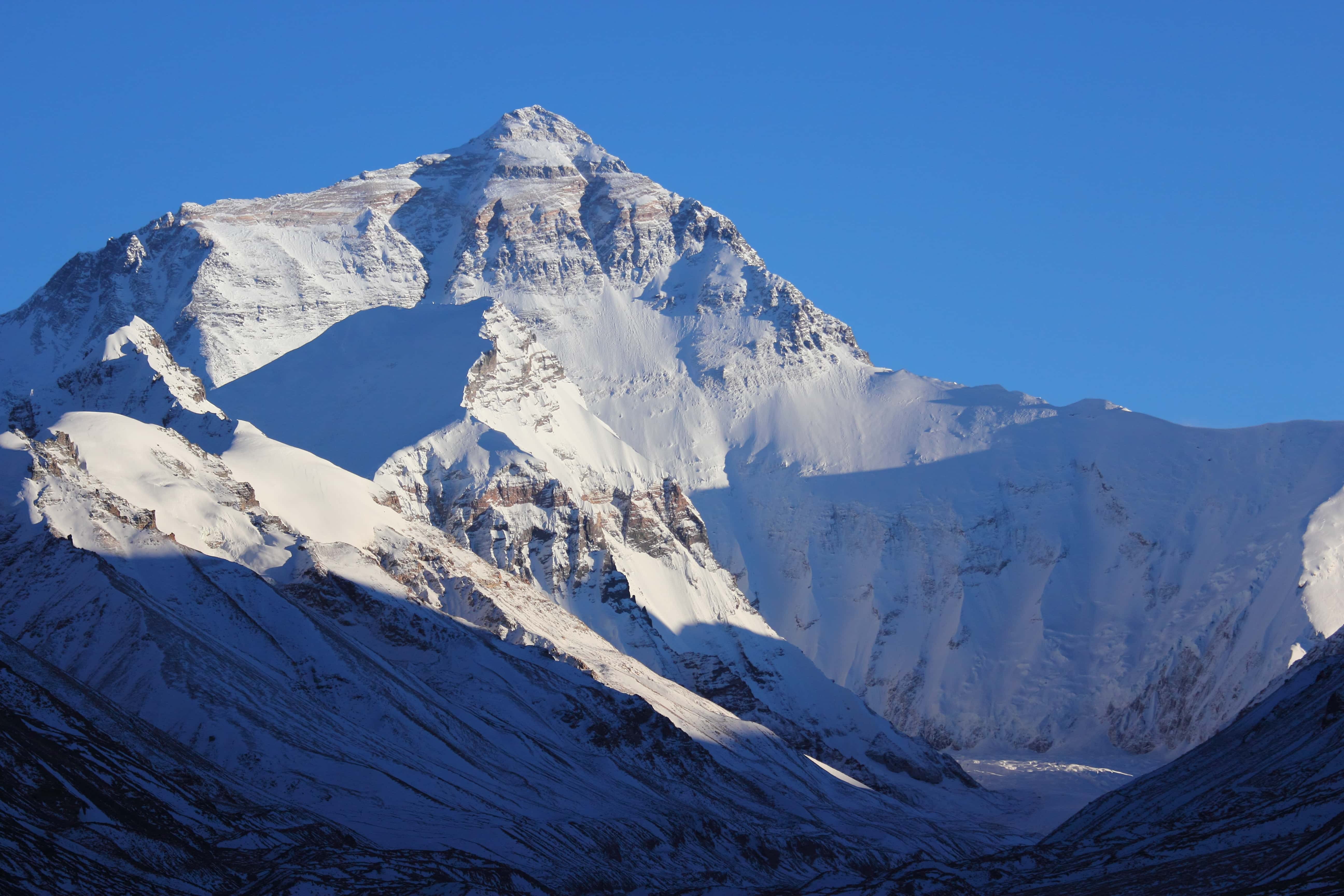 Mount Everest North Face in Tibet