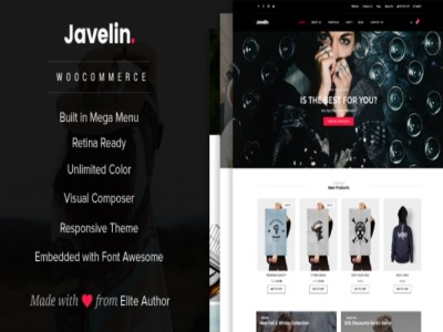 Javelin WordPress theme