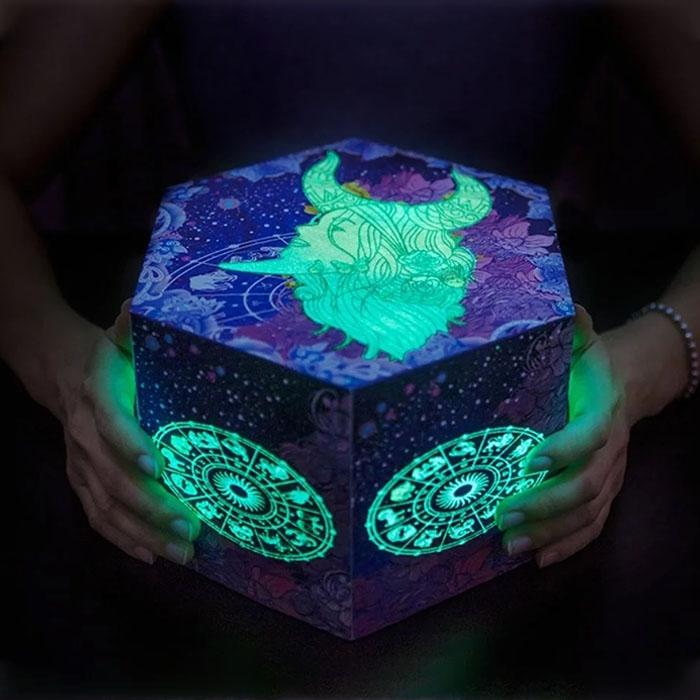 12 星座夜光爆炸禮物盒
