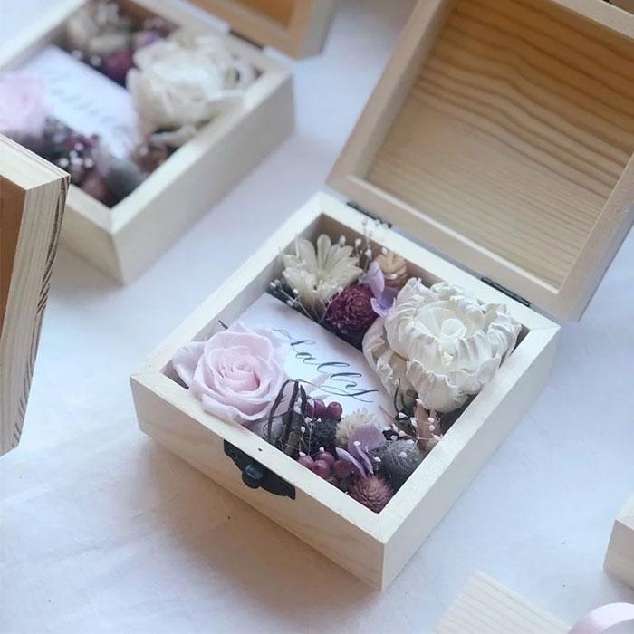永生乾燥花木盒
