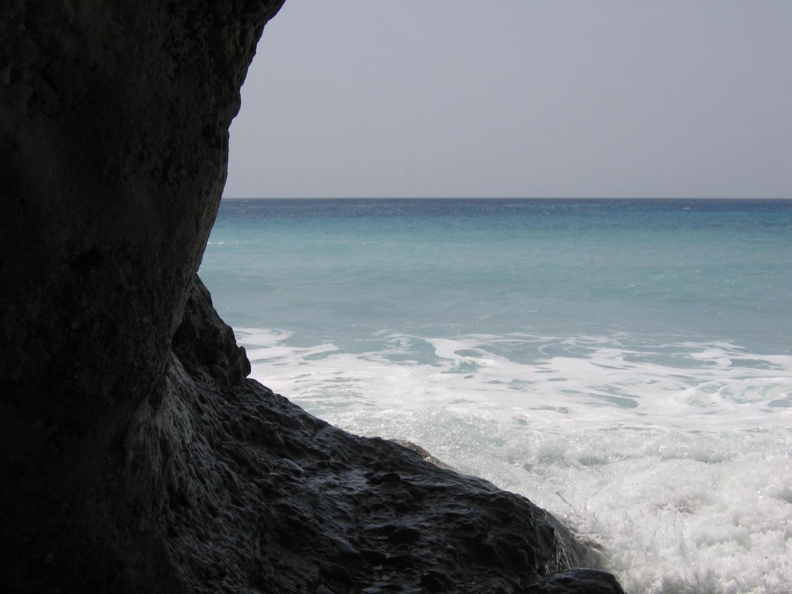 Golven en zee
