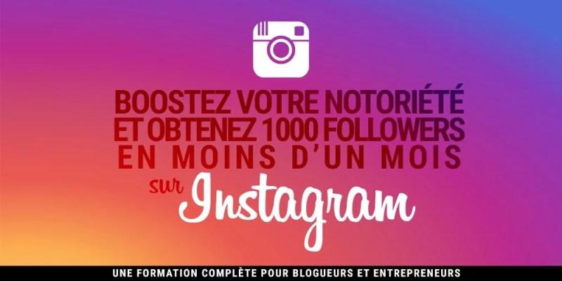 formation sur instagram