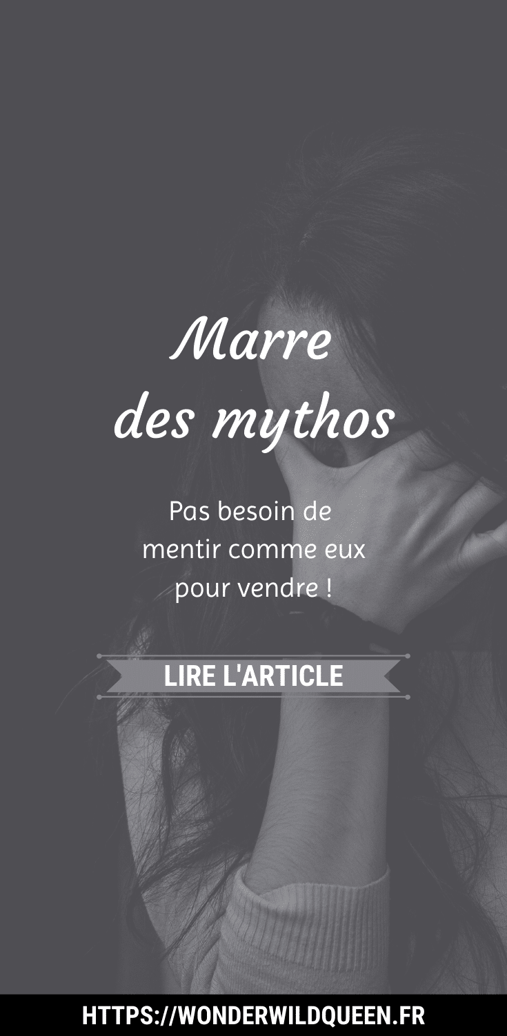 Marre des mythos. #vendre #copywriting #businessenligne