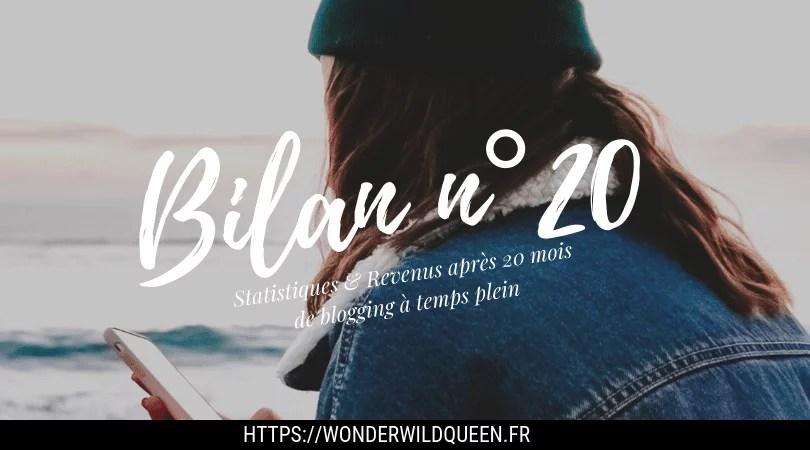 bilan de blogging 20