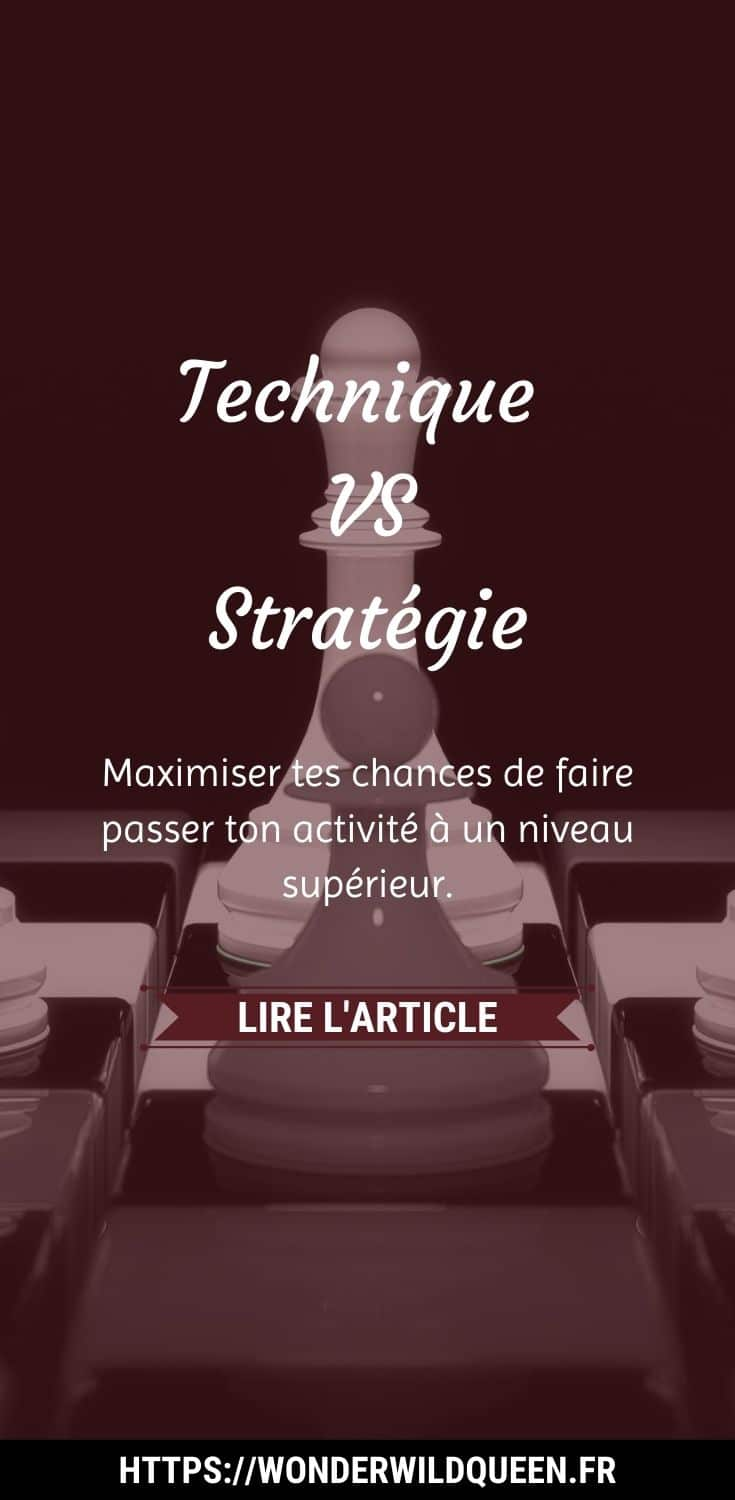 technique vs strategie #business #strategie #technique