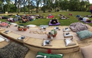 social yoga session Matakana
