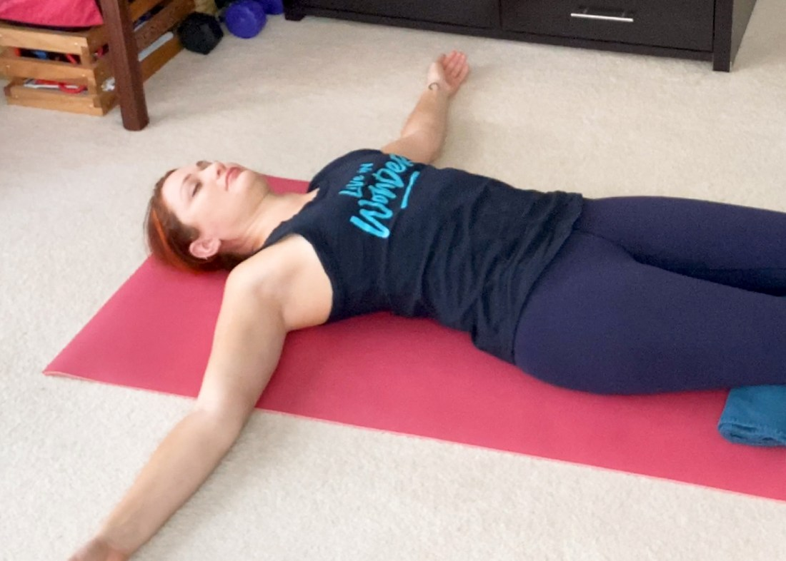 chest stretch for slouching