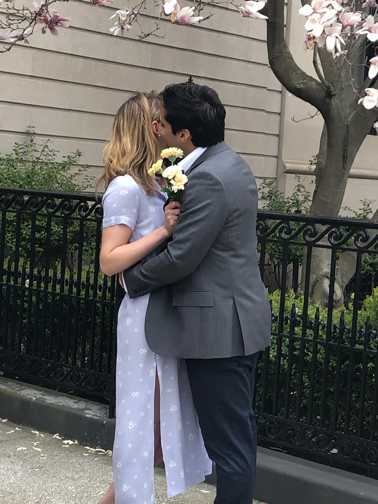 Sidewalk Wedding, COVID Fatigue & Found Insecurity