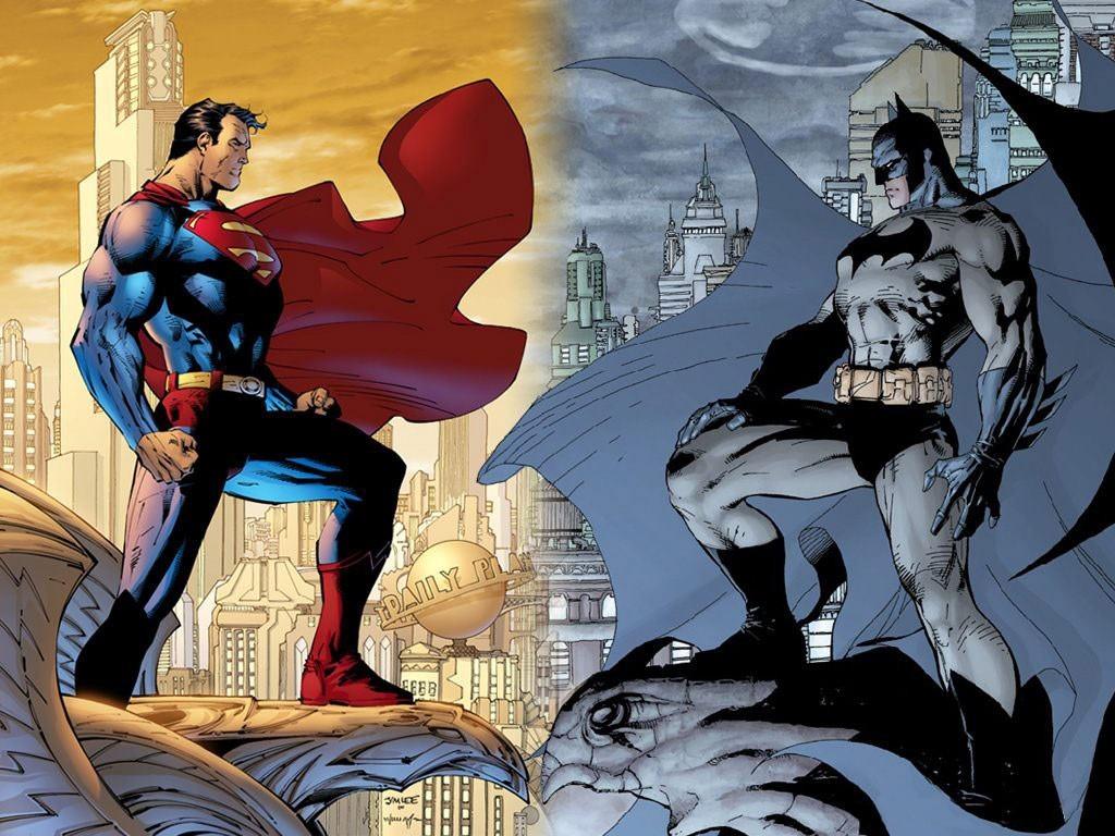 Znalezione obrazy dla zapytania batman and superman
