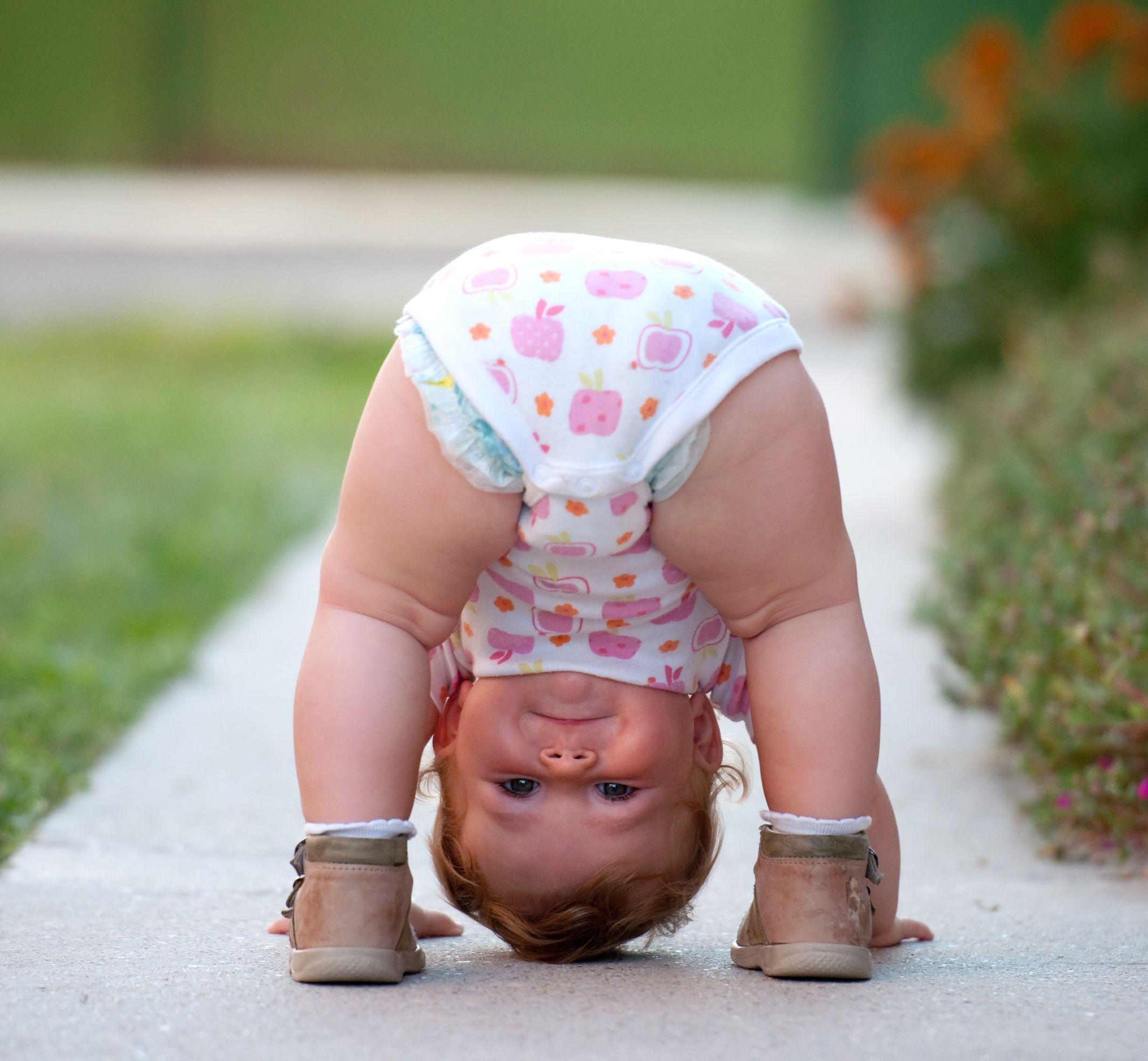 Baby Upside Down