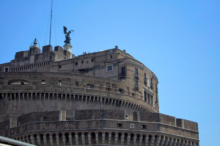 How to see the sights of Rome for free: Castel Sant'Angelo, Free first Sunday of every month