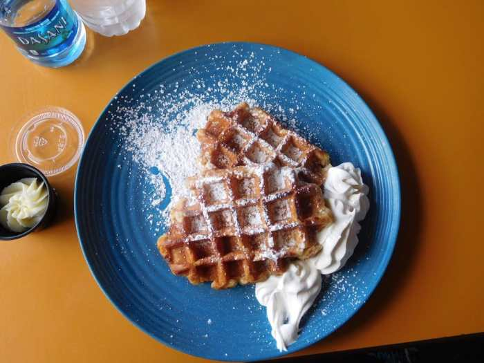 Country Waffle at Mister Gregory's | New Orleans