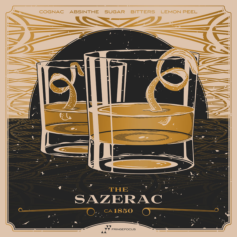 Cognac Sazerac | The History of the Sazerac and New Orleans