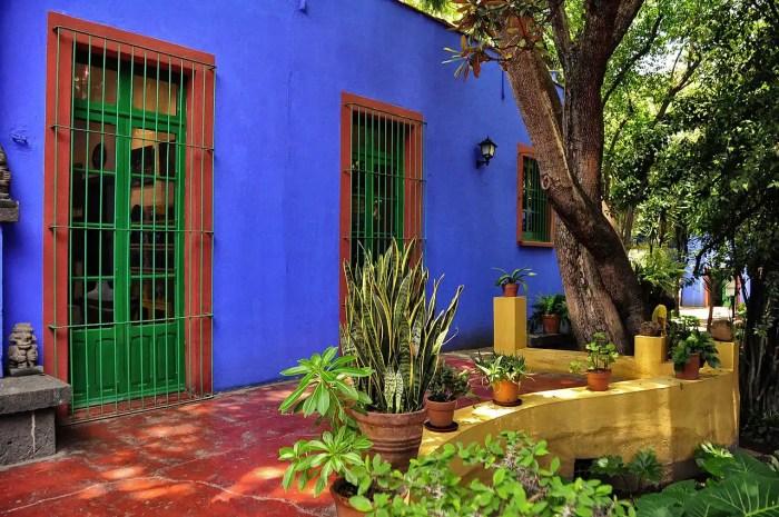 Frida Kahlo's House Mexico City