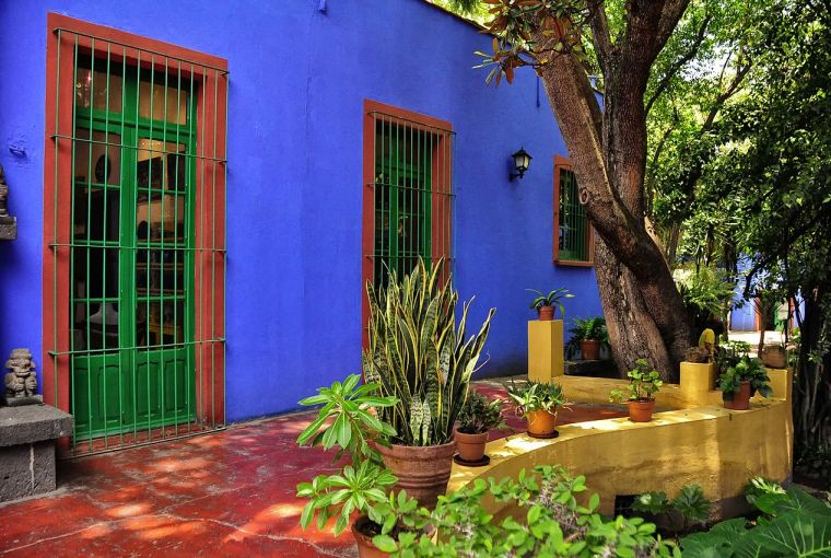 Frida Kahlo's House Mexico City