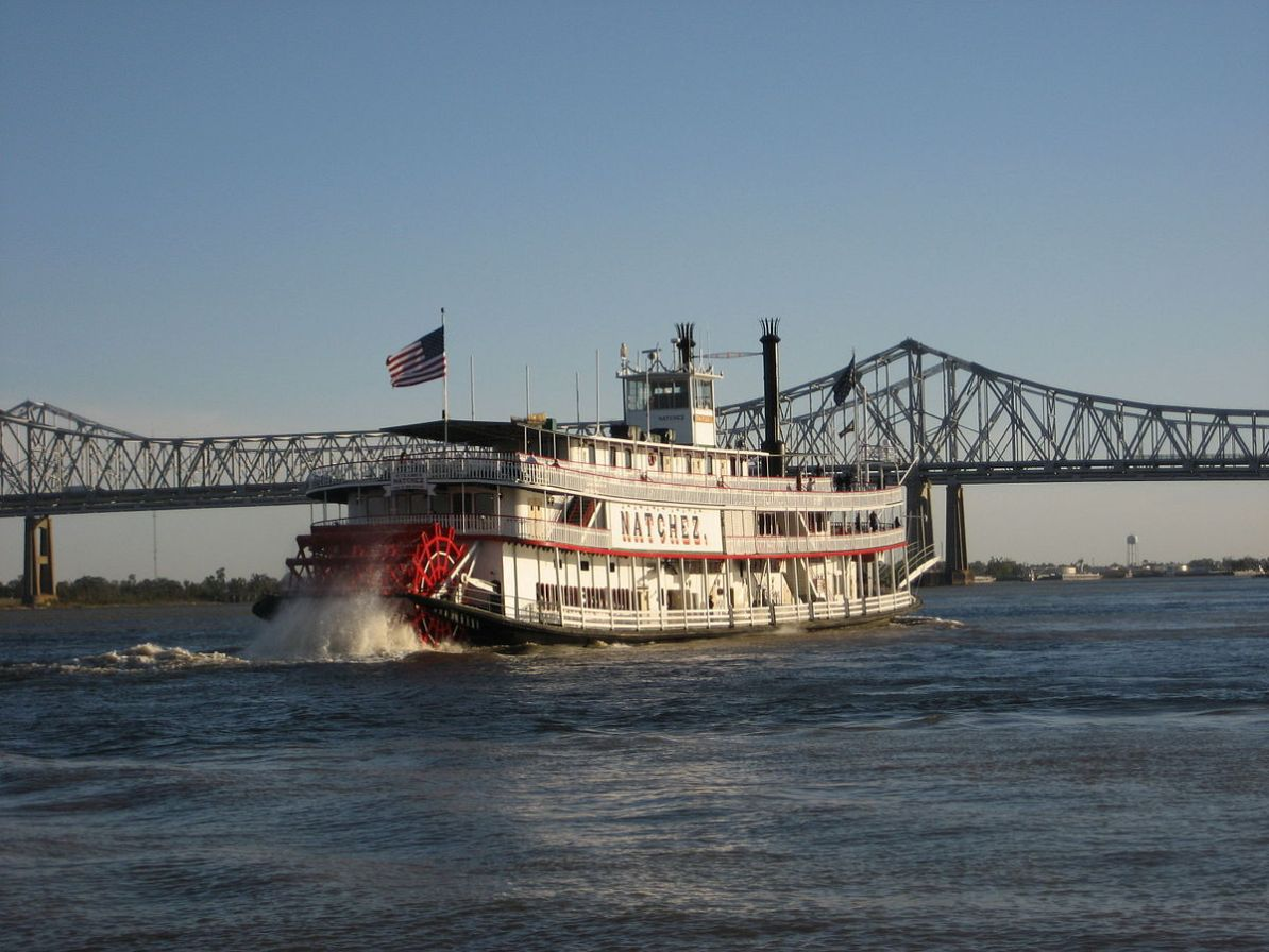 New Orleans Steamboat Mississippi Calliope