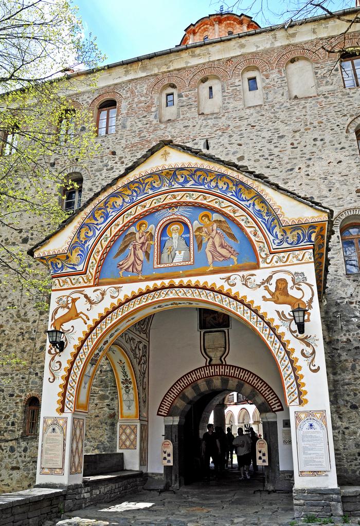rila monastery photo