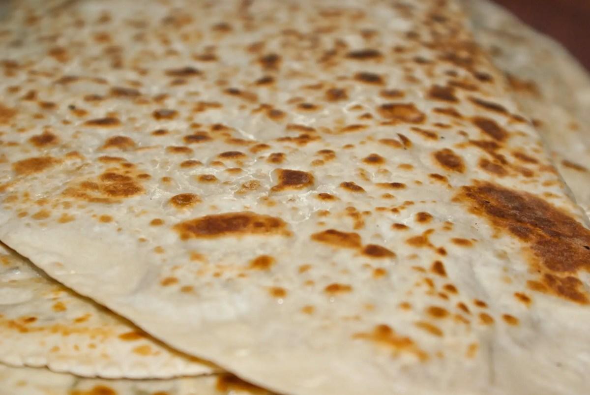 Gozleme Flatbread Turkish Street Food