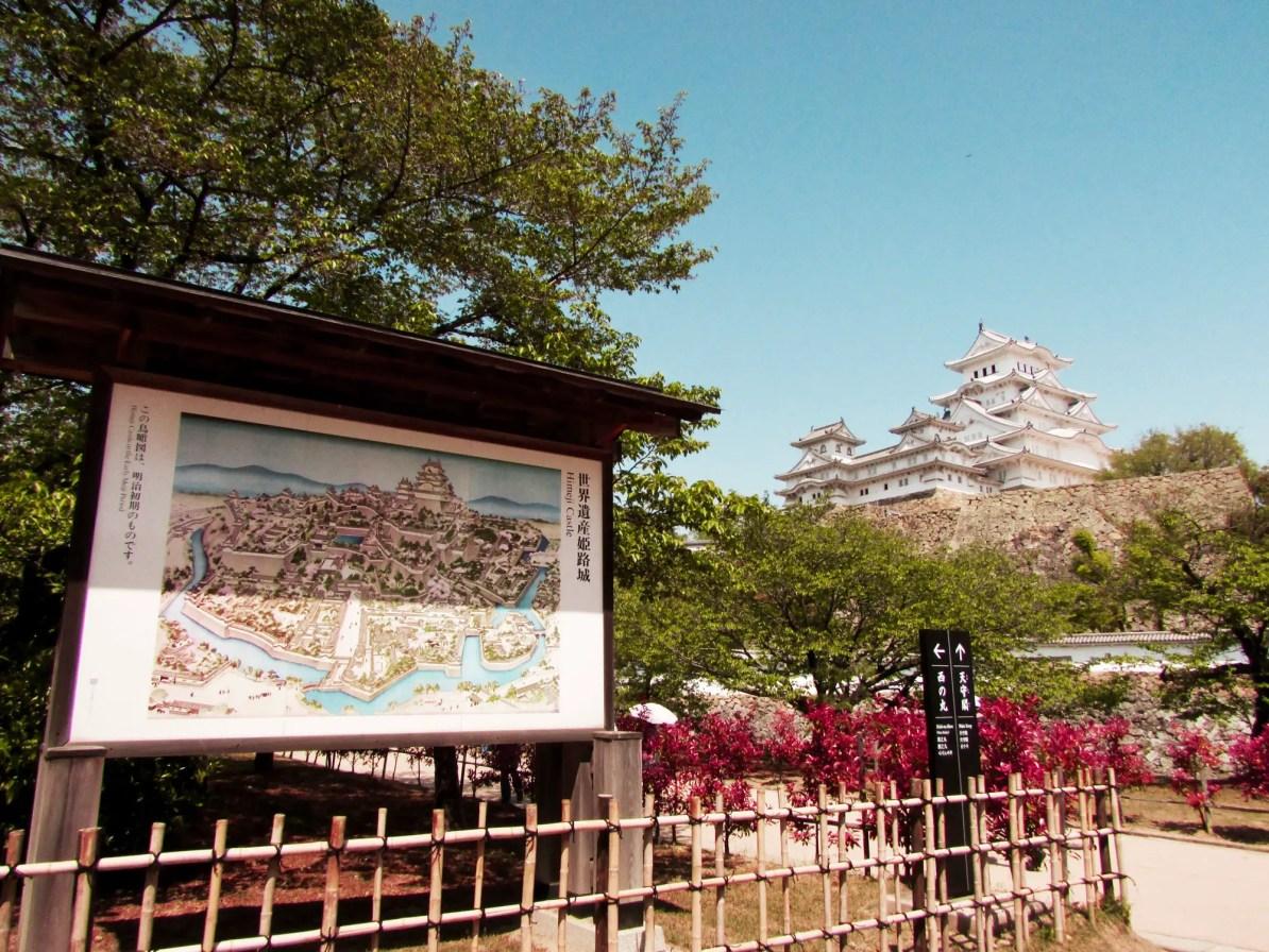 Himeji Castle Map - Himeji Jo