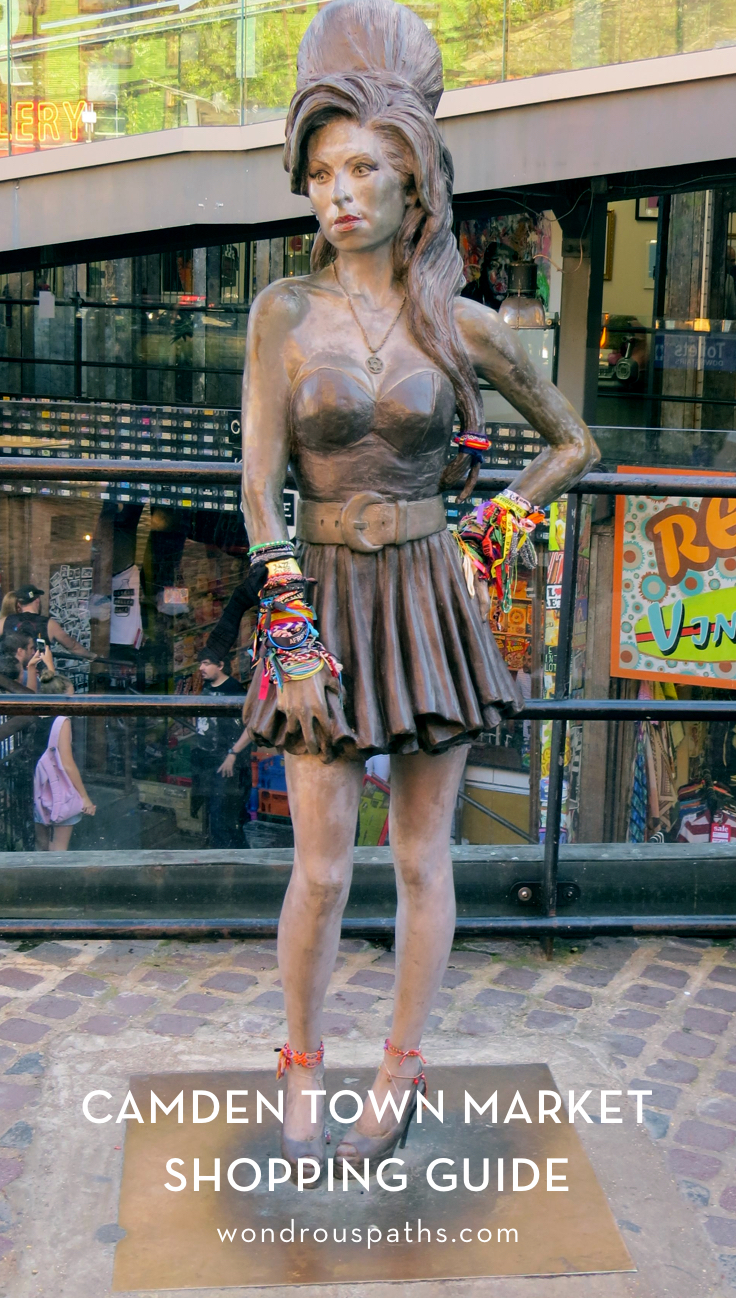 Amy Winehouse Statue at Camden Market