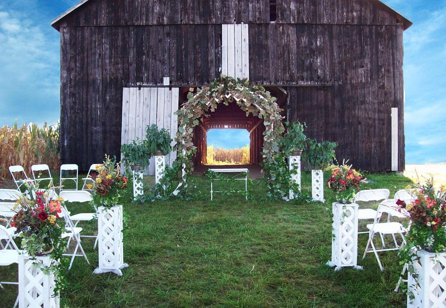 Outdoor Wedding Venue Decoration Ideas