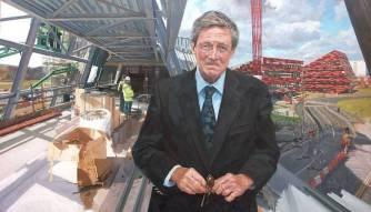 Sir Colin Campbell, Vice Chancellor, University of Nottingham 1988-2008 (c) Alastair Adams