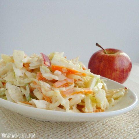 Apple Cabbage Coleslaw